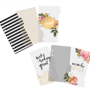HS Memory Planner clear divider personal
