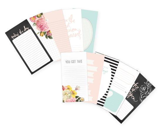 HS Memory Planner paper pad personal
