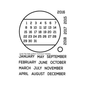 Technique-Tuesday-Circle-The-Date-Clear-Stamps-Medium