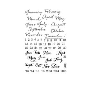 Technique-Tuesday-Mini-Months-Clear-Stamps-Medium