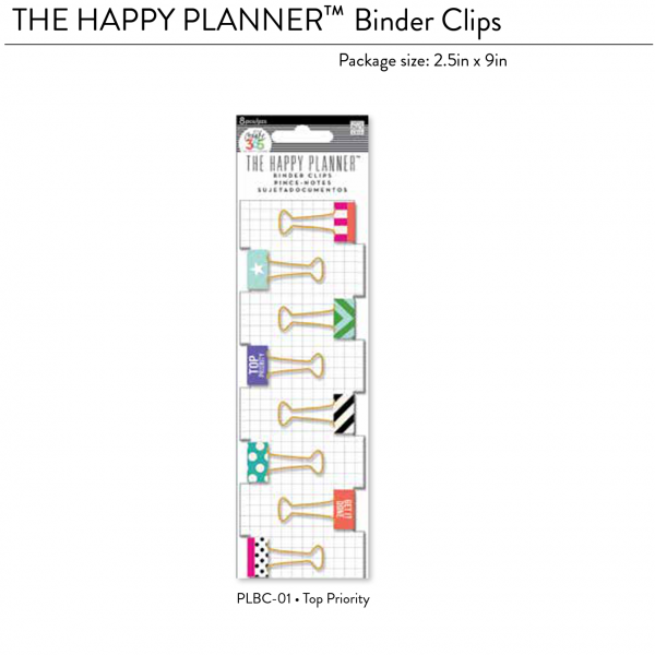 beinder clips top priority