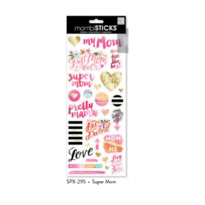 super mom stickers