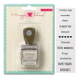 Maggie Holmes Styleboard Phrase Roller Stamp
