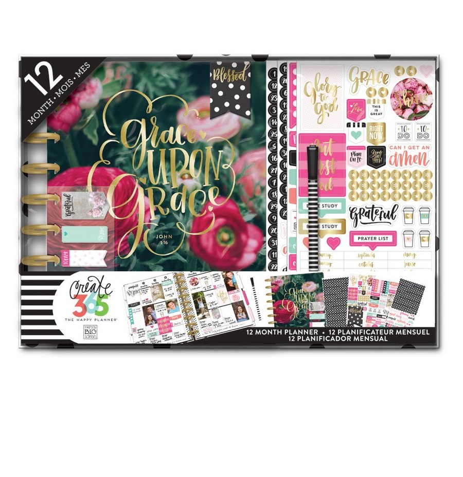 me and my big ideas the happy planner 12 month box kit faith