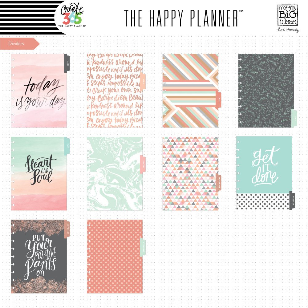 Me and My Big Ideas 2016-2017 CLASSIC Rose Gold Horizontal Happy Planner™