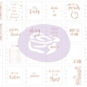 My Prima Planner Embelishments – Journaling Cards – Keep Going details