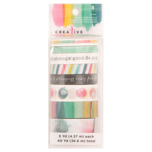 American Crafts - Creative Devotion Collection - Washi Tape - Four