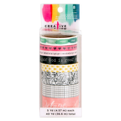 American Crafts - Creative Devotion Collection - Washi Tape - Two