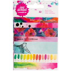 JANE DAVENPORT MIXED MEDIA WASHI TAPE BOOK