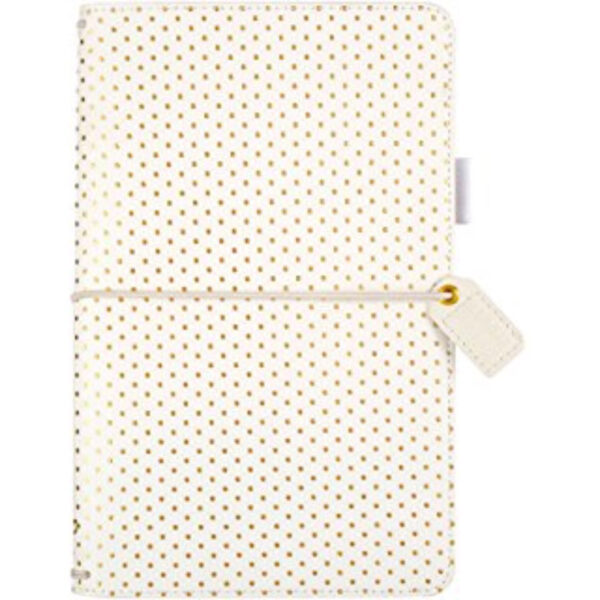 Websters Pages Gold Embossed Travelers Notebook