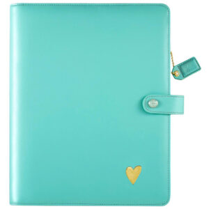 Websters Pages  Light Teal Composition Planner