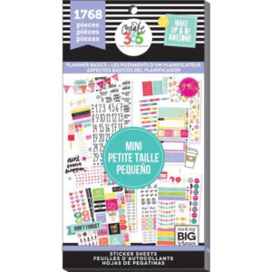 Value Pack Sticker Book Planner Basics  MINI